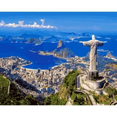 Картина по номерам «Рио-де-Жанейро», модель VP484