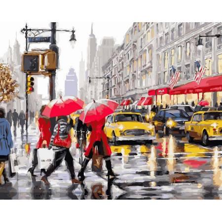 Картина по номерам Осень в Нью-Йорке VP507, Babylon