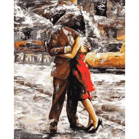 Картина по номерам «Летний дождь худИмре Тот», модель VP510