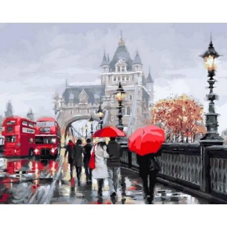 Картина по номерам Осень в Лондоне VP552, Babylon