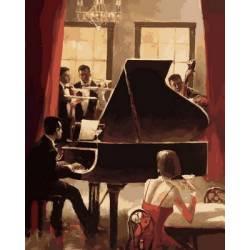 Джаз на пианино