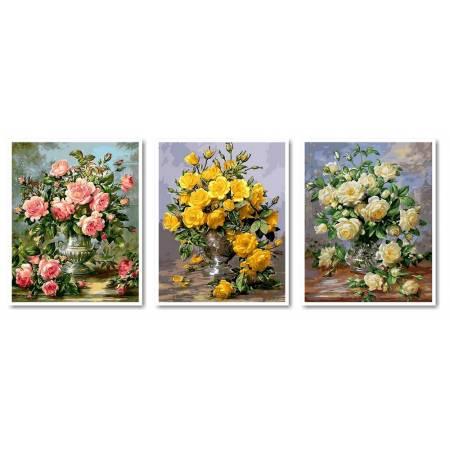 Картина по номерам Великолепие цветов VPT015, Babylon