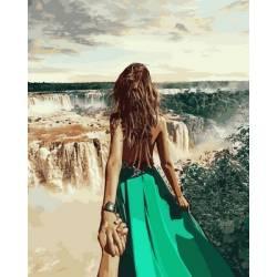 Следуй за мной Бразилия, цветной холст