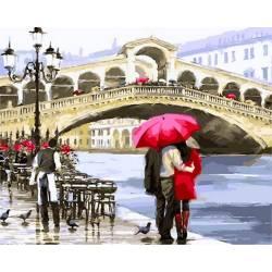 Однажды в Венеции, цветной холст