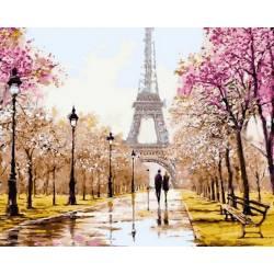 Ранняя весна. Париж