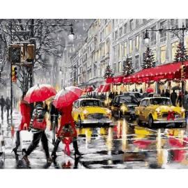 Зима. Нью - Йорк