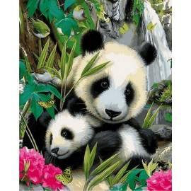 Малыш и панда