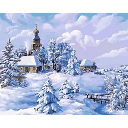 Картина по номерам Середина зимы VP818, Babylon