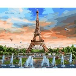 Радуга над Парижем