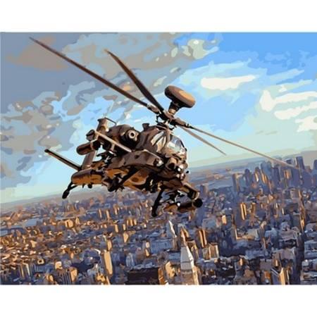 Картина по номерам Полет над Нью-Йорком VP830, Babylon
