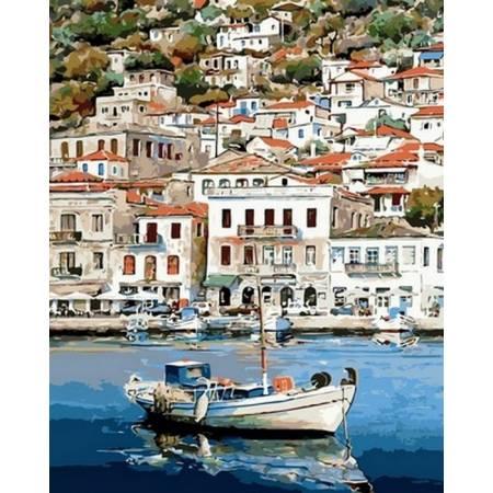 Картина по номерам Пейзажи Греции VP832, Babylon