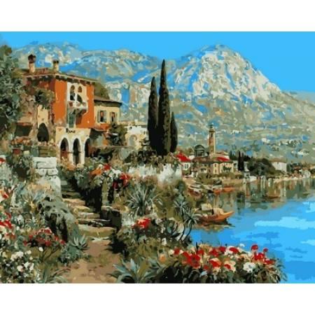 Очарование Италии, цветной холст