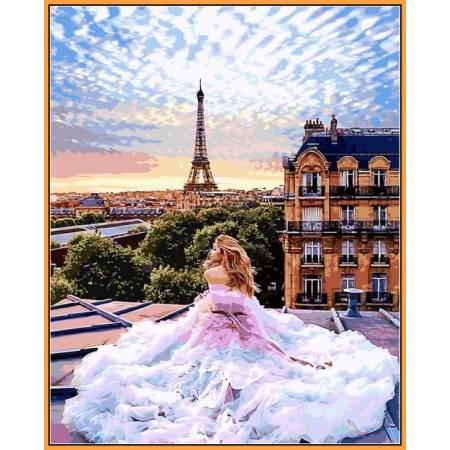 Картина по номерам Парижские мечты NB1013, Babylon Premium