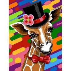 Жираф в шапке