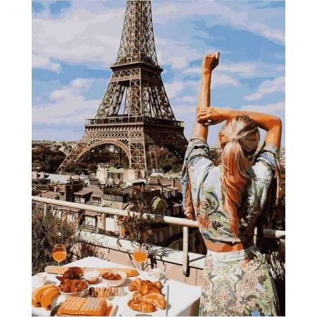 Картина по номерам Завтрак в Париже VP1240, Babylon