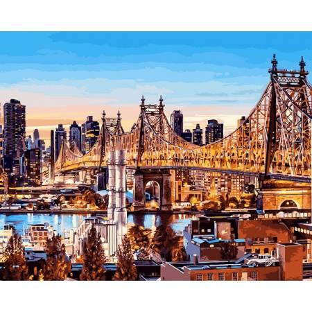Картина по номерам Вечер в Нью-Йорке VP1245, Babylon