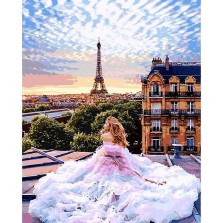 Картина по номерам Парижские желания VPS1013, Babylon