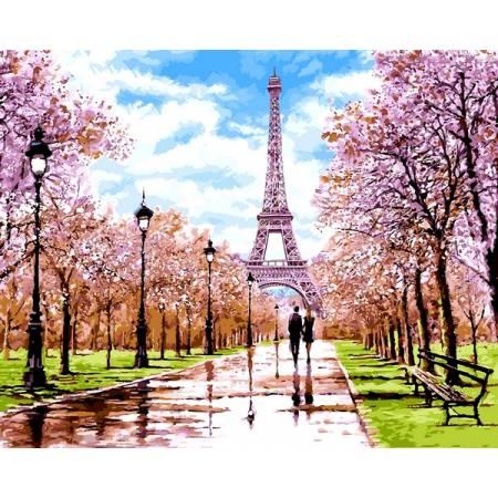 Картина по номерам Апрель в Париже VPS1198, Babylon