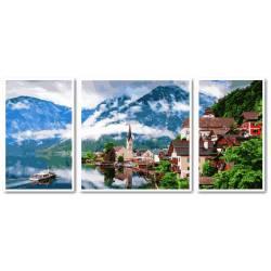 Триптих. Летняя Австрия
