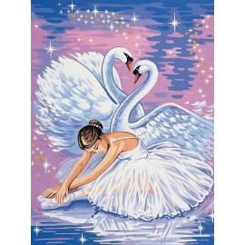 Танец лебедей и балерины