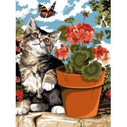 Игривый кот
