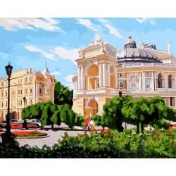 Одесский Оперный театр летом