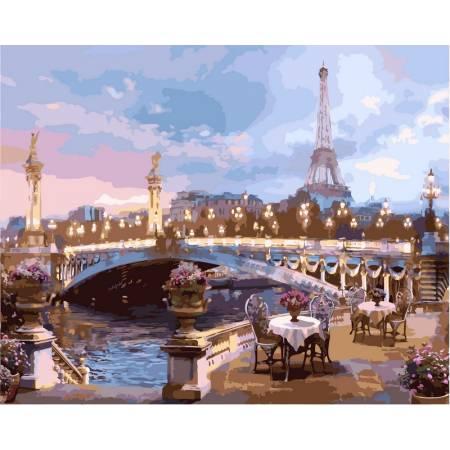 Картина по номерам Вечерний Париж VP519, Babylon