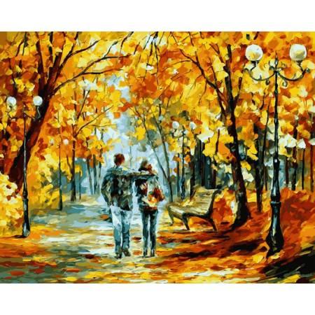Картина по номерам Теплый октябрь, Афремов VP523, Babylon