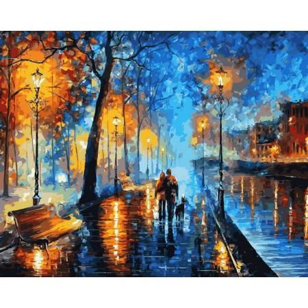 Картина по номерам Вечерняя прогулка, Афремов VP524, Babylon