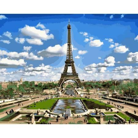 Картина по номерам Эйфелева башня VPS515, Babylon