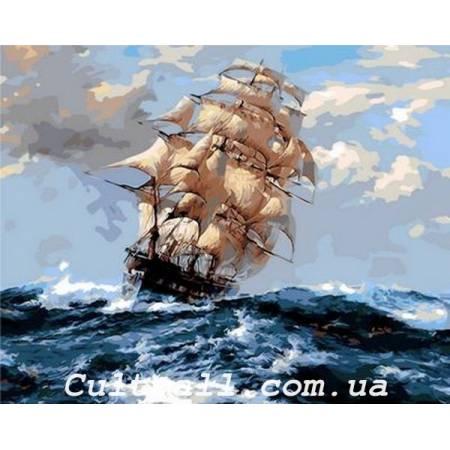 Картина по номерам На всех парусах Q1069, Mariposa
