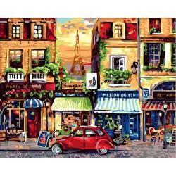 Разноцветные улочки Парижа