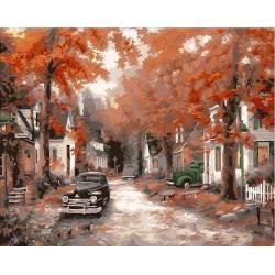 Осень на кленовой улице