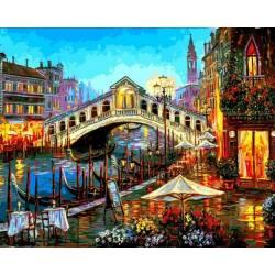 Огни ночной Венеции