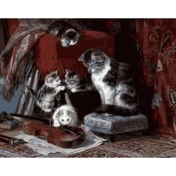 Котята и скрипка