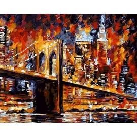 Яркий Бруклинский мост