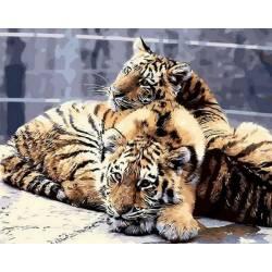 Задумчивые тигрята