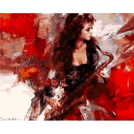 Картина по номерам Музыка страсти Q905, Mariposa