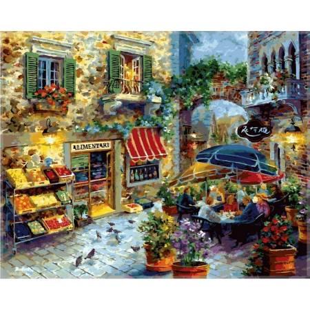 Картина по номерам Летнее кафе  vp301new, Babylon