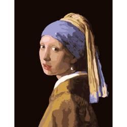 Девушка с жемчужной сережкой. Ян Вермеер