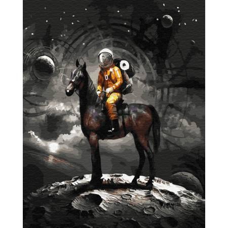 Картина по номерам Космический рыцарь GX28896, Rainbow Art