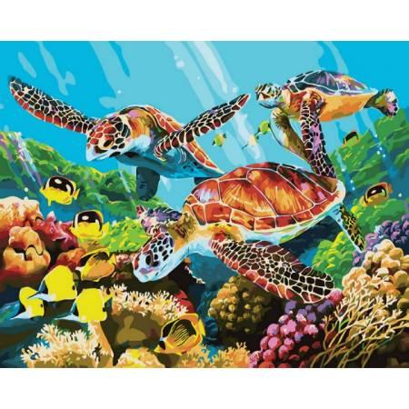 Картина по номерам Подводный мир GX29099, Rainbow Art