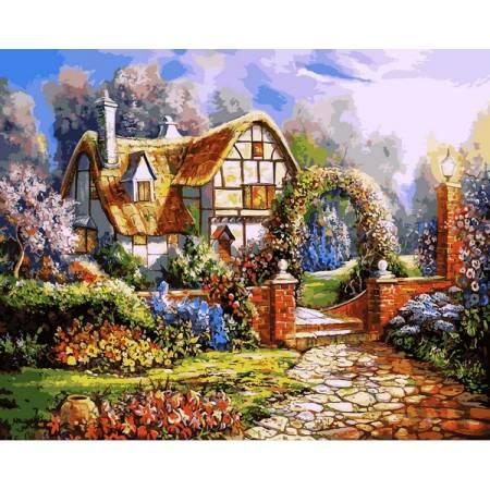 Картина по номерам Сказочный сад VP1091, Babylon