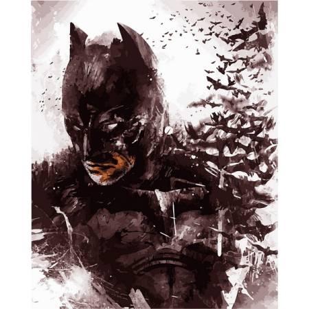 Картина по номерам «Темный рыцарь», модель vp1108
