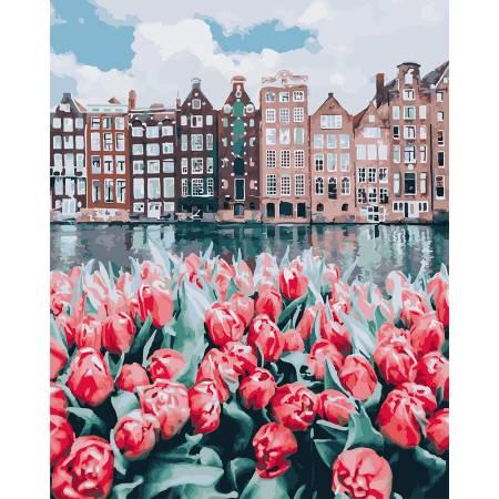 Картина по номерам Тюльпаны Амстердама GX25449, Rainbow Art