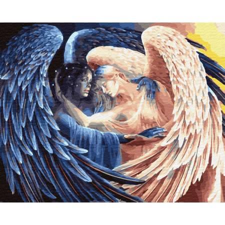 Картина по номерам Объятия ангела  GX32023, Rainbow Art
