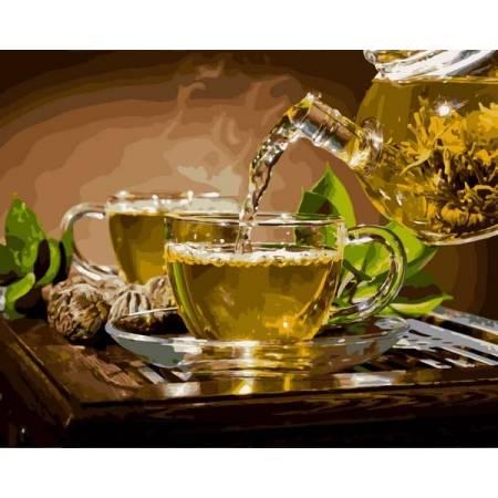 Картина по номерам Чай с мятой VP1134, Babylon
