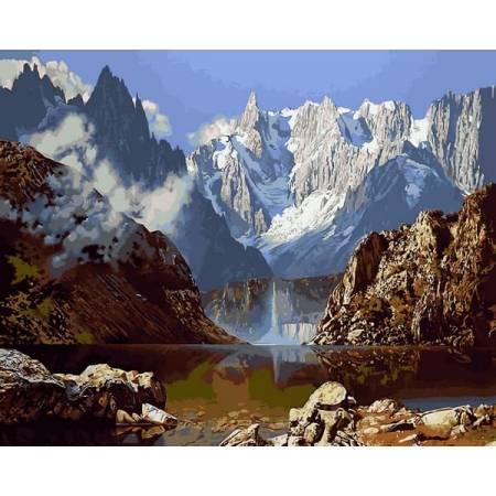 Картина по номерам Величественные горы VP1143, Babylon