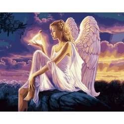 Ангел с голубкой