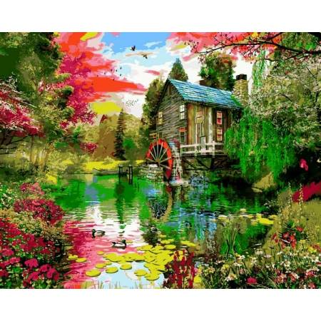Картина по номерам Краски природы VP1159, Babylon